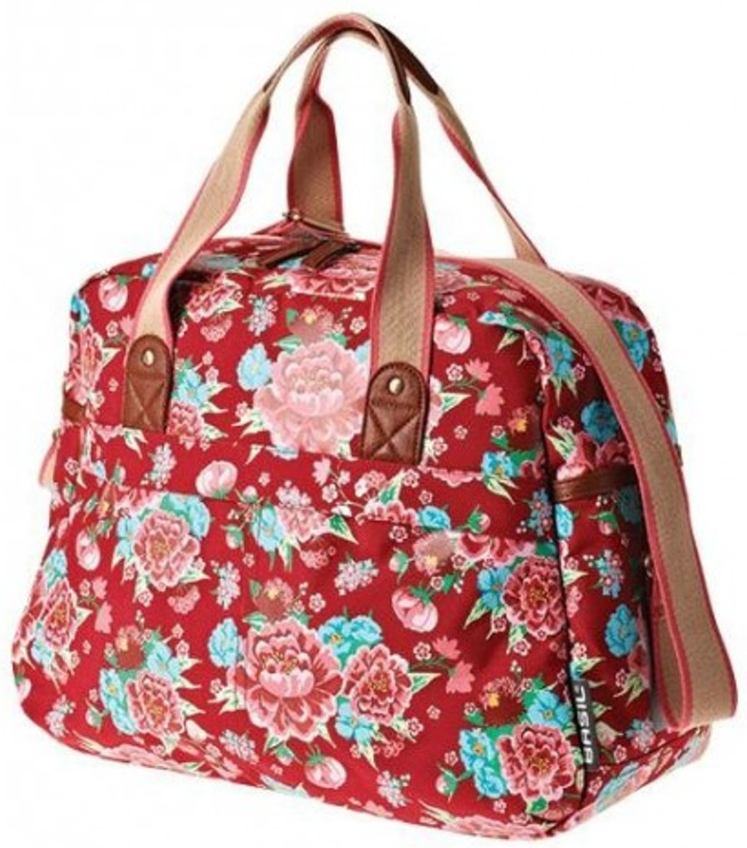 458f6046e19 bol.com | Basil Bloom Carry All Bag Enkele Fietstas - 18 l - Scarlet Rood