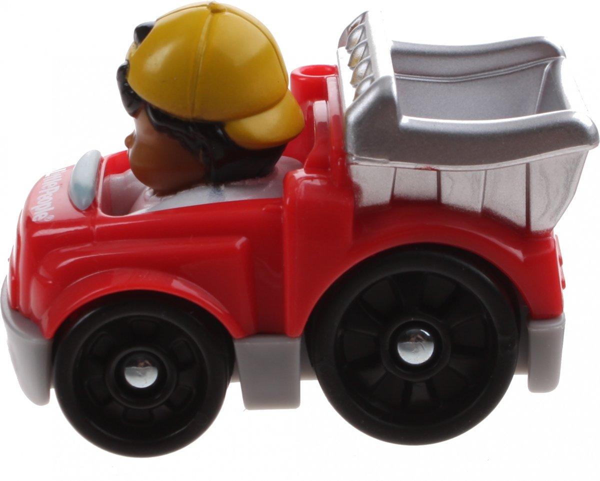 Fisher-price Little People Wheelies Auto 6,5 Cm Rood (y5957)