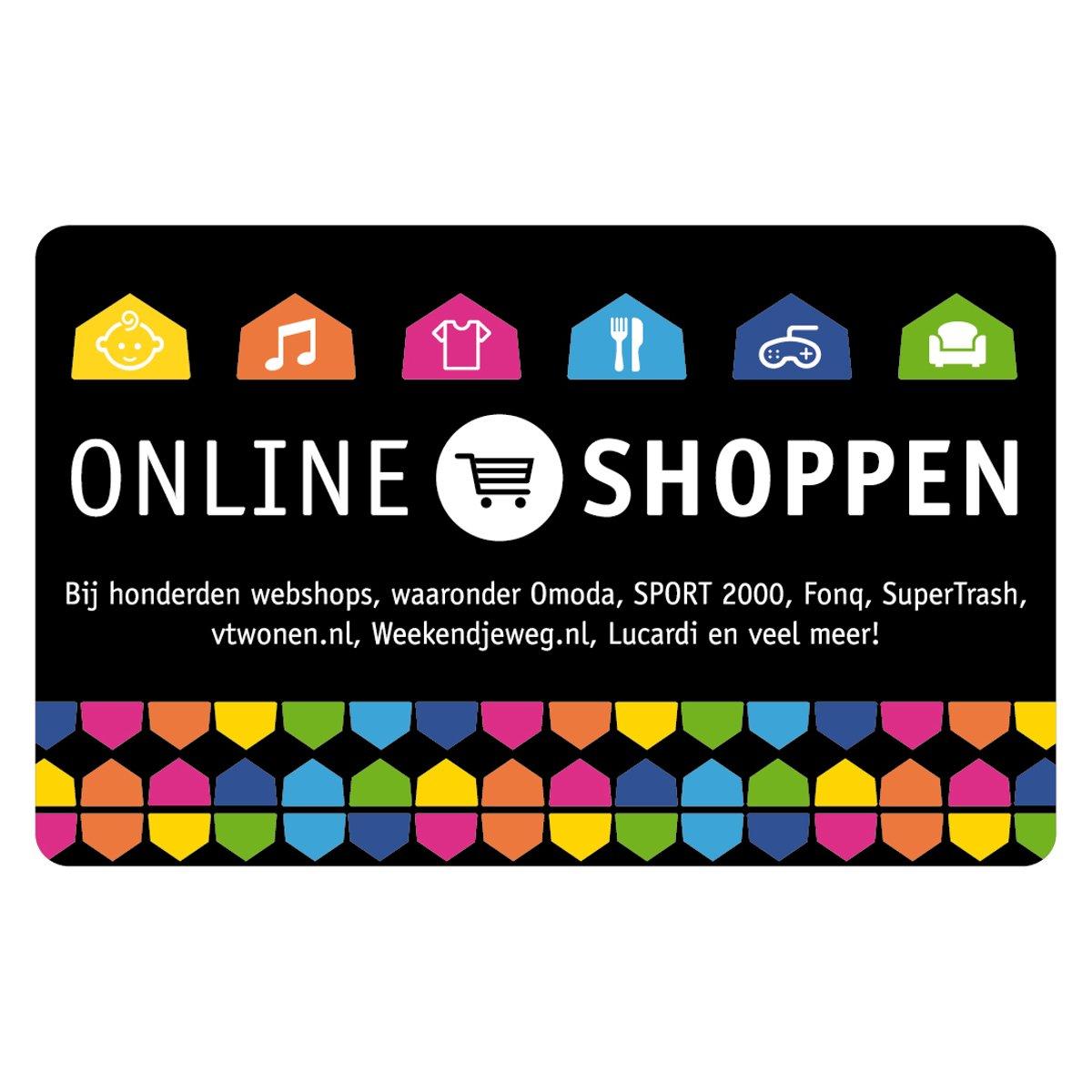 Bolcom Webshop Giftcard 100 Euro