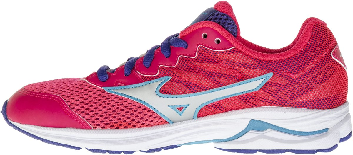 Mizuno - Wave Rider 20 Ans Chaussures De Course - Filles - Chaussures - Rose - 35 4o2tK