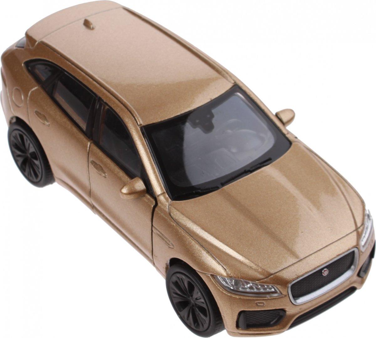 Welly Schaalmodel Jaguar F-pace 1:34 Bruin 11 Cm kopen