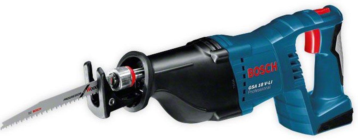 Bosch Reciprozaag GSA 18 V-LI Professional