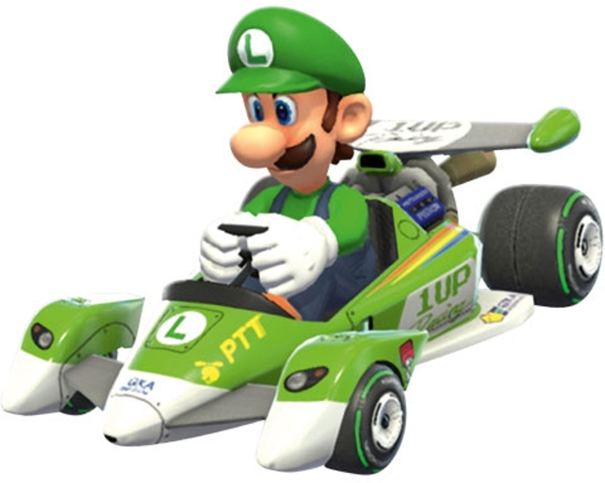 Auto Pull & Speed Mario Kart Special - Luigi