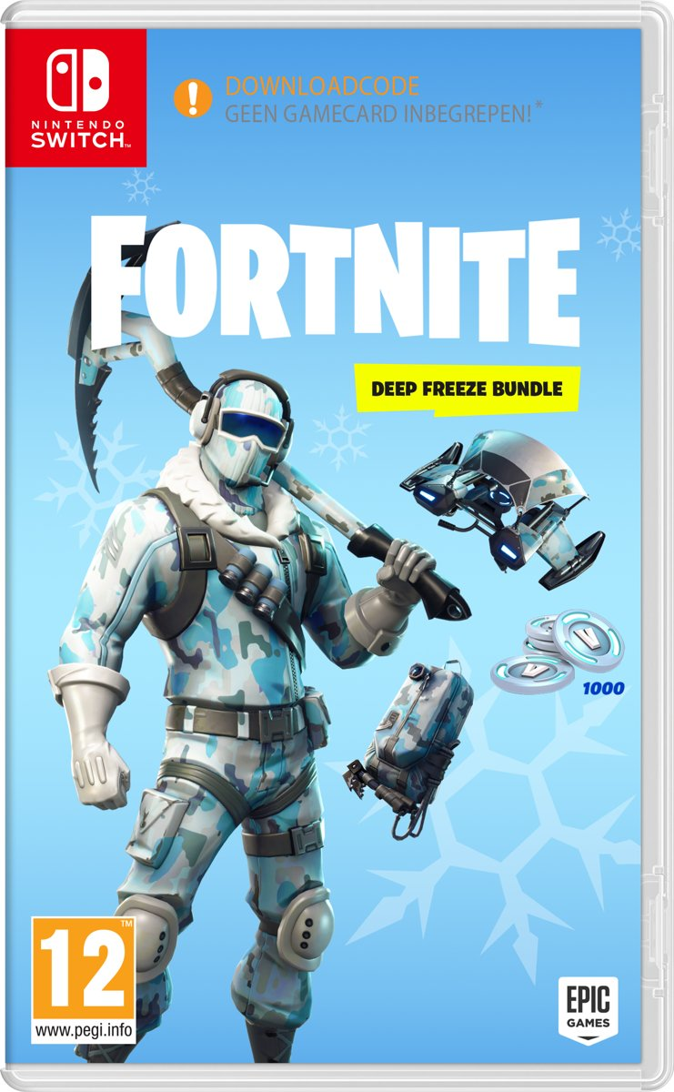Fortnite: Deep Freeze Bundle - Code in Box Switch