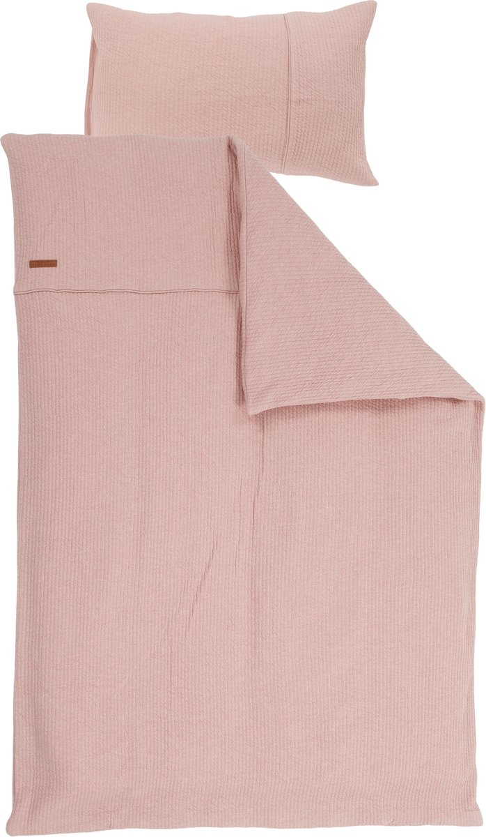 Little Dutch Ledikant dekenovertrek - pure pink