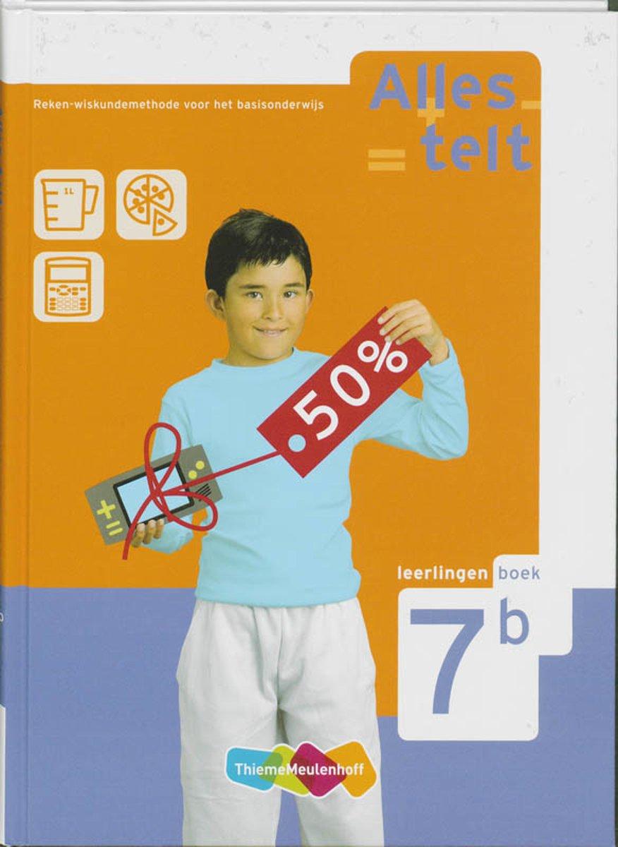 Welp bol.com | Alles telt / 7B / deel Leerlingenboek | 9789006632804 MW-35