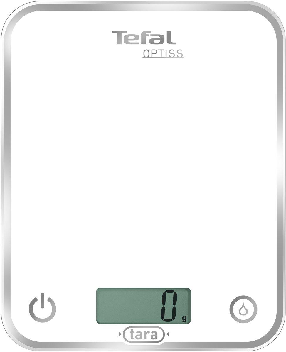Tefal Optiss BC5000VO - Keukenweegschaal