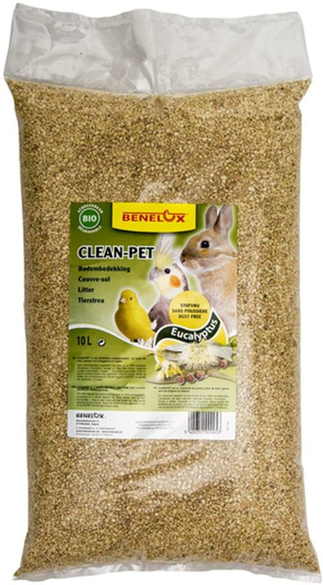 Clean-Pet eucalyptus bodembedekking