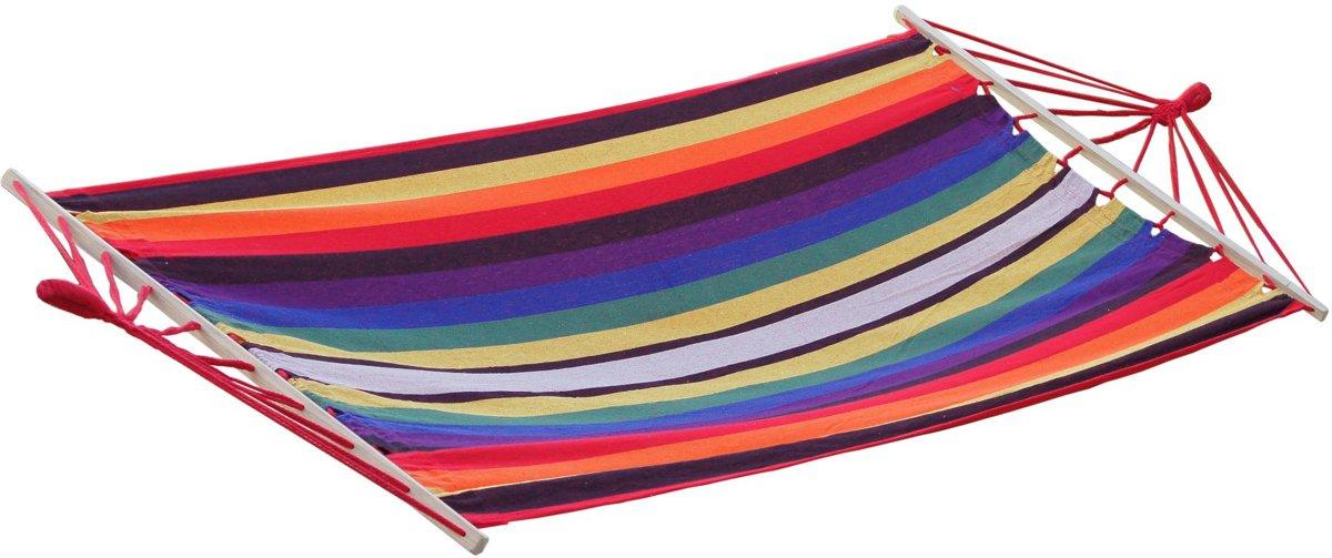 Potenza -Eénpersoons Hangmat / 1-persoons Hangmat met spreidstok