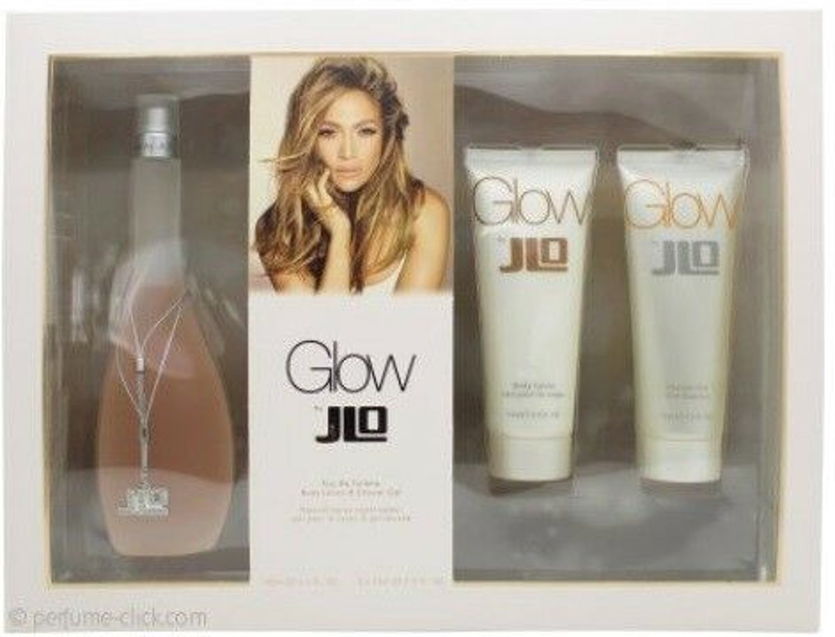 Jennifer Lopez Glow Set Edt 100 ml + Bl 75 ml + Sg 75 ml
