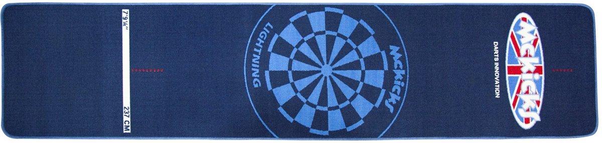 Carpet Dartmat McKicks Blue kopen