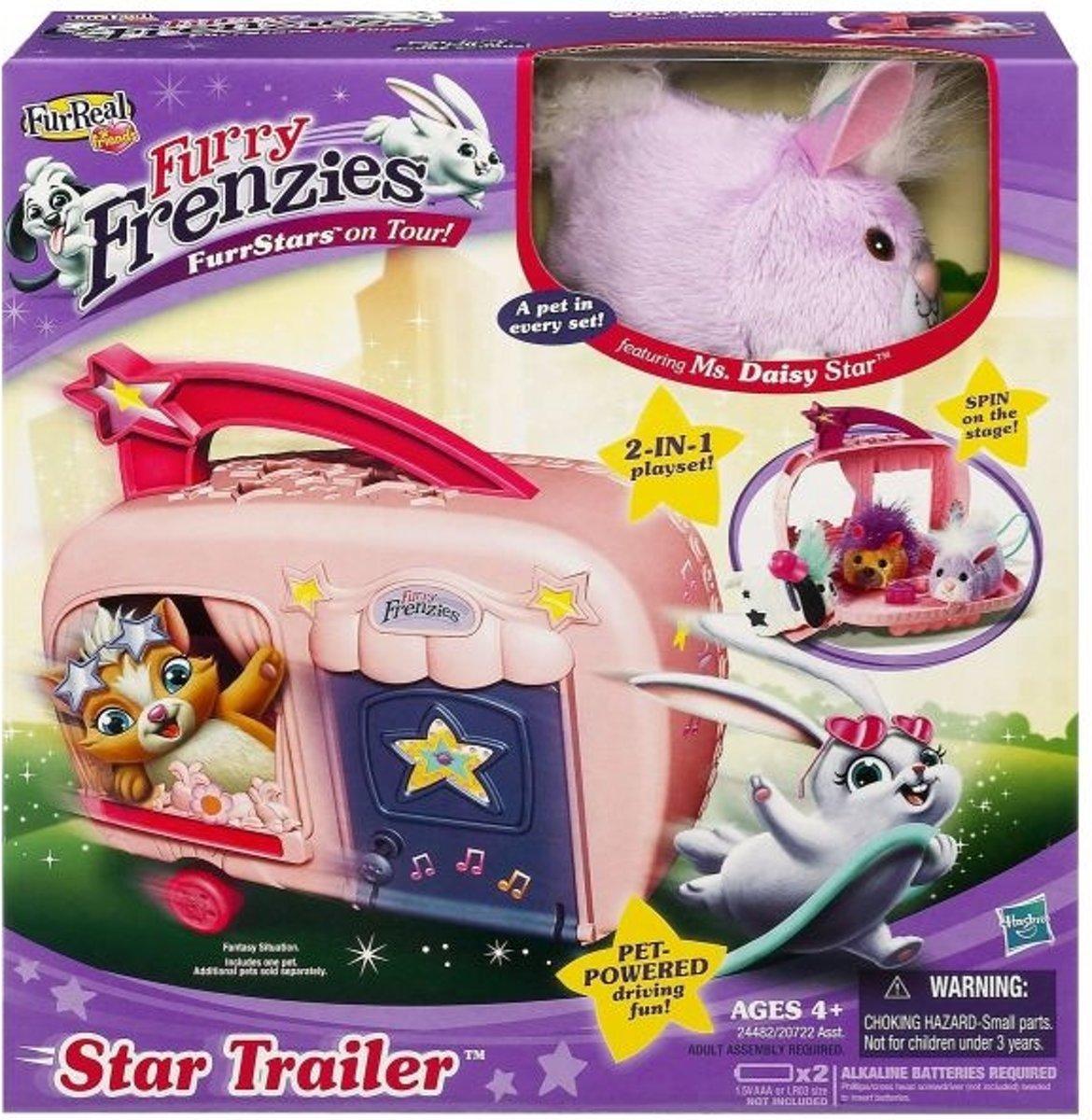 FurReal Friends Furry Frenzies Speelsetje - Elektronische knuffel
