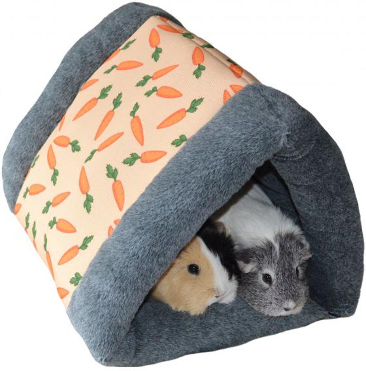 Knaagdier tunnel snuggle n sleep 37 x 31 x 25 cm