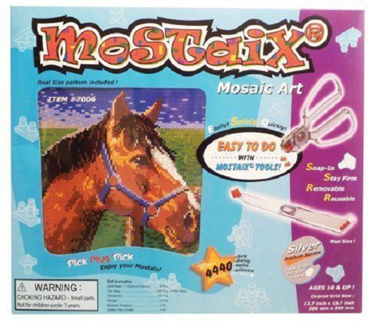 Mostaix mosaic art paard