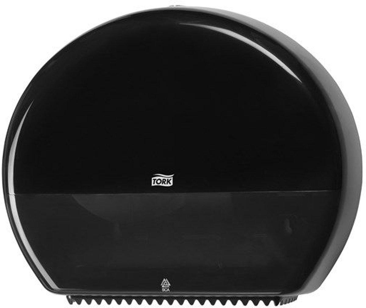 Tork Jumbo Toiletpapier Dispenser Kunststof Zwart T1 kopen