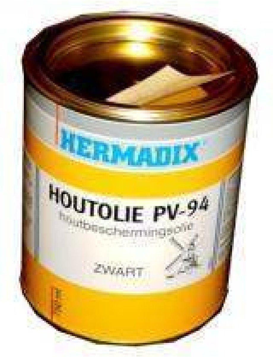 Hermadix houtolie zwart pv-94 5 liter kopen