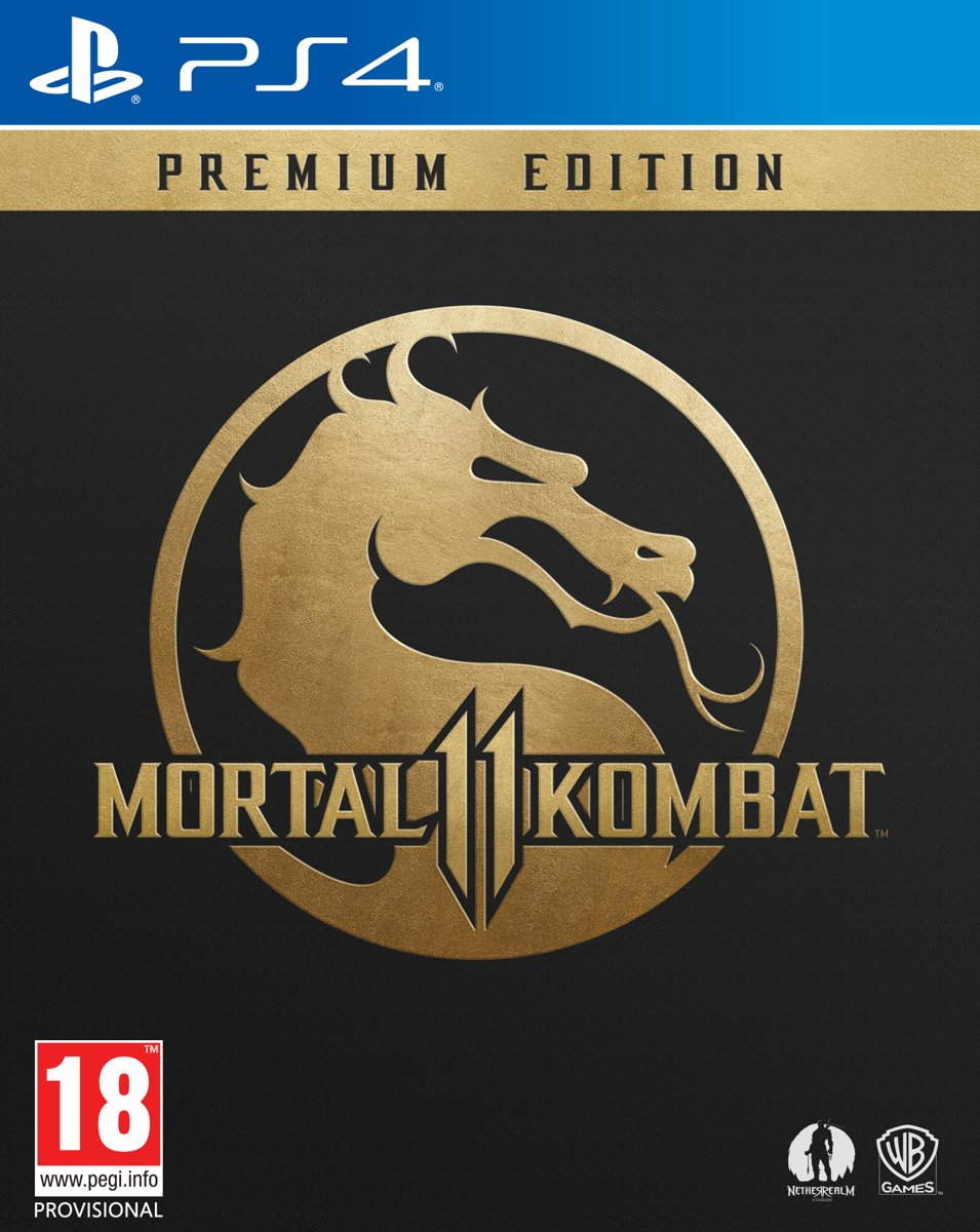 Mortal Kombat 11 - Premium Edition PlayStation 4