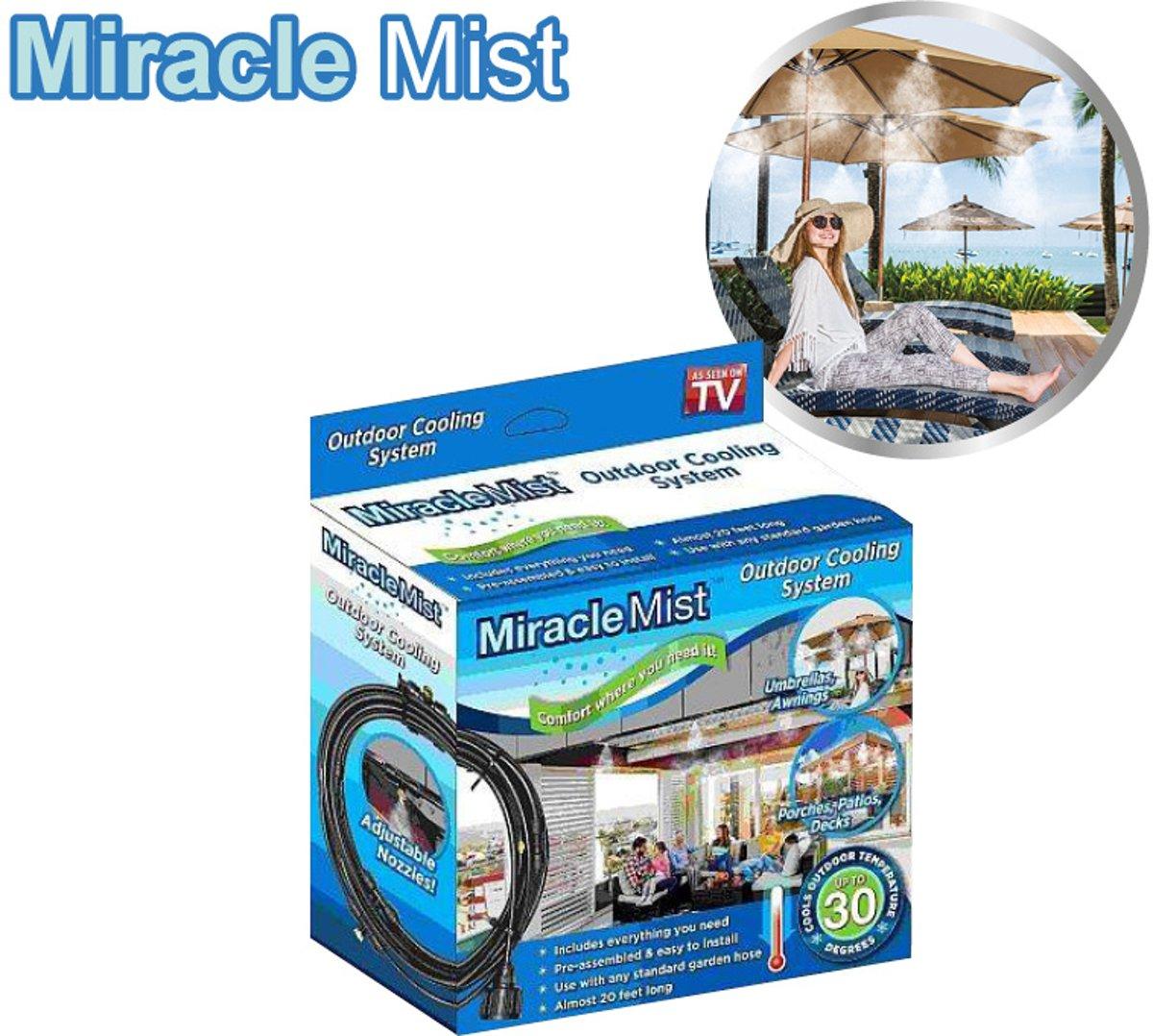 Miracle Mist Vernevelingssysteem - Nevelsproeier - Verkoeling