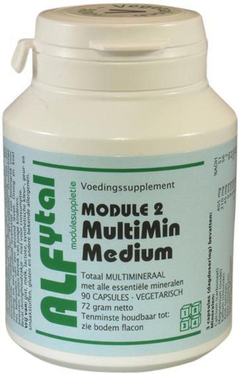 Foto van Alfytal Multimin Medium (module 2) 90 vegicaps