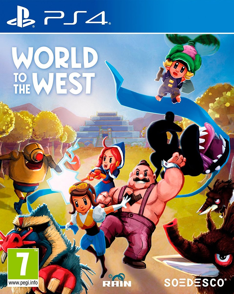 World to the West PlayStation 4