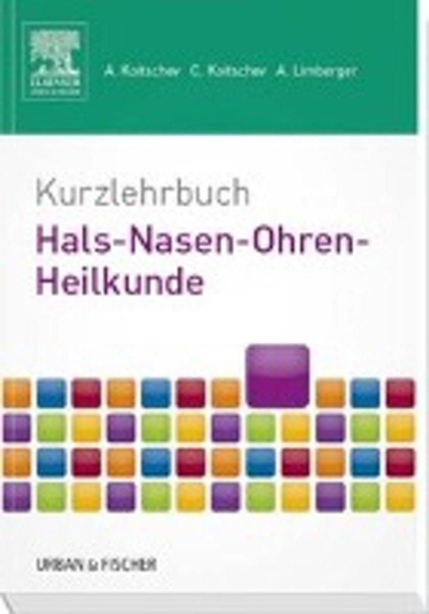 bol.com   Kurzlehrbuch Hals-Nasen-Ohren-Heilkunde, Assen Koitschev ...