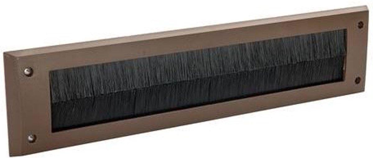 FIXMAN Brievenbusborstel 338 x 78 mm, bruin