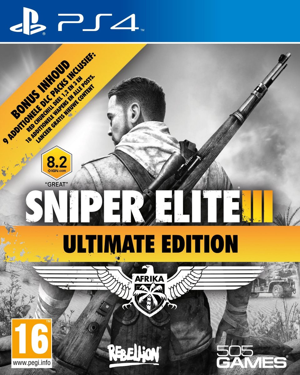 Sniper Elite 3 - Ultimate Edition PlayStation 4