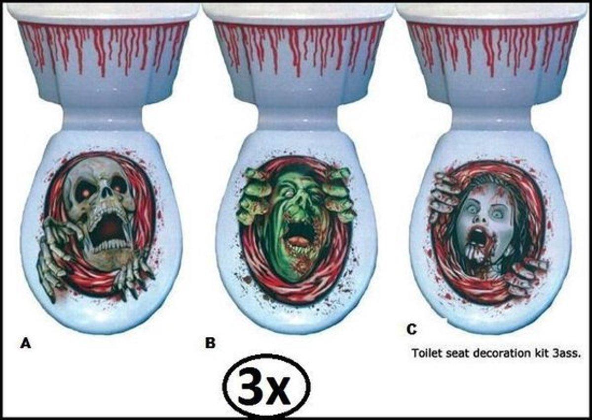 Bol griezel decoratieset toilet themaparty speelgoed
