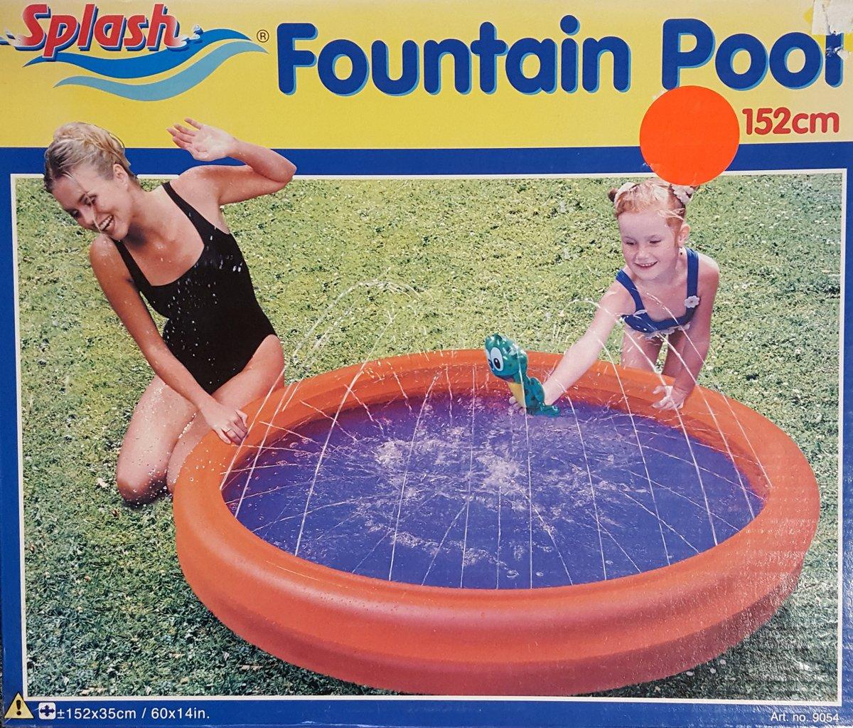 Splash Fontein Zwembad - Opblaasbaar zwembad - 152 cm
