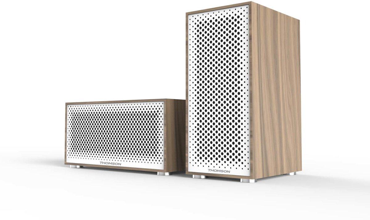 Thomson Multiroom Basisset - Draadloze speakers -Wit kopen