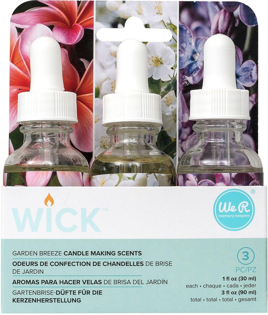 We R Memory Keepers - Wick scents garden breeze - per 3 verpakt kopen
