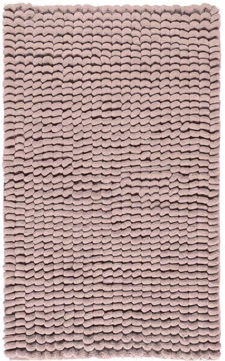 Aquanova Luka - Badmat - 70x120 cm - Dusty pink kopen