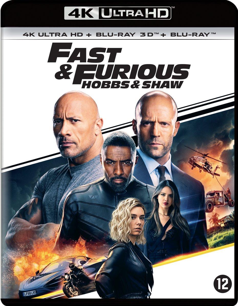 Fast & Furious - Hobbs & Shaw (4K+FHD 2D+3D Blu-ray)-