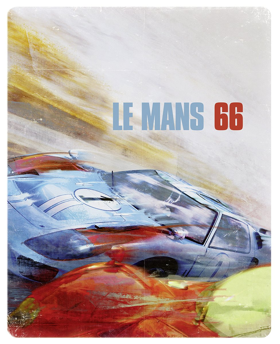 Ford v Ferrari (Le Mans '66) (4K Ultra HD Blu-ray) (Steelbook)-