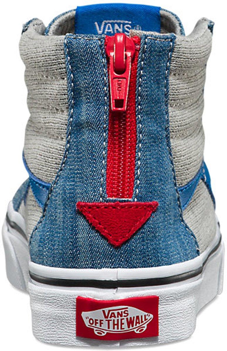 35eec1d87ae bol.com | Vans Sneaker Kids - SK8-Hi Zip (Jersey & Denim) Imperial -  Sneakers - Kinderen - Blauw.