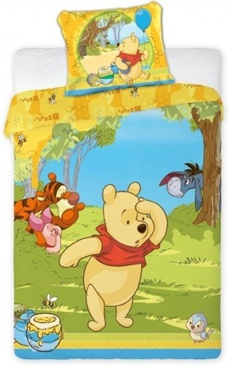 Disney Dekbedovertrek Winnie The Pooh 140x200/65x65 Cm kopen