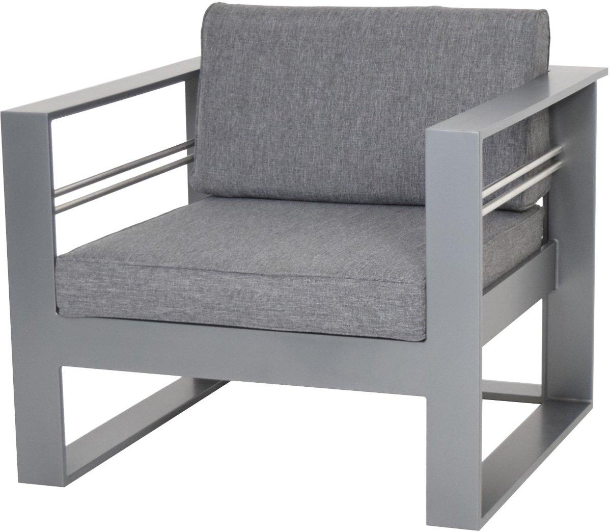 Stratos Lounge Chair Grey kopen