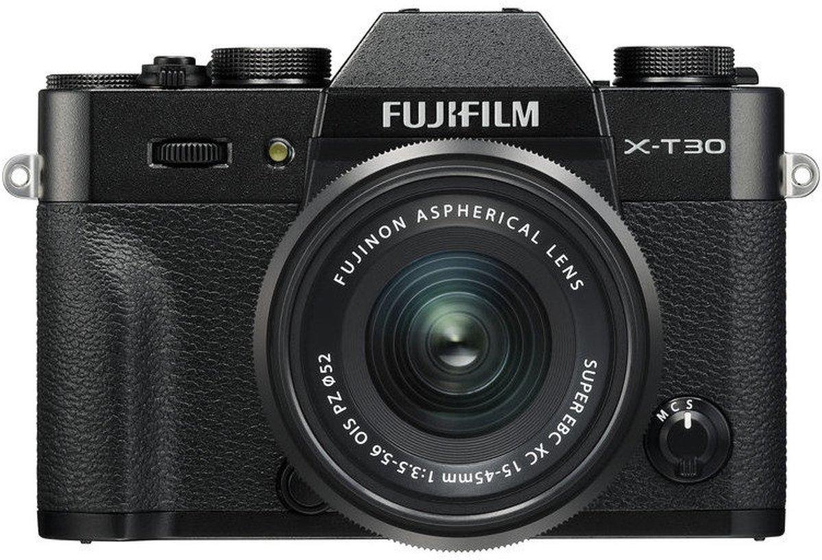 Fujifilm X-T30 + XC 15-45mm - Zwart