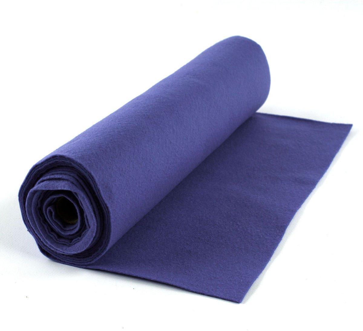 Vilt op Rol 1mm dik 45cmx5m Donker Lavendel kopen