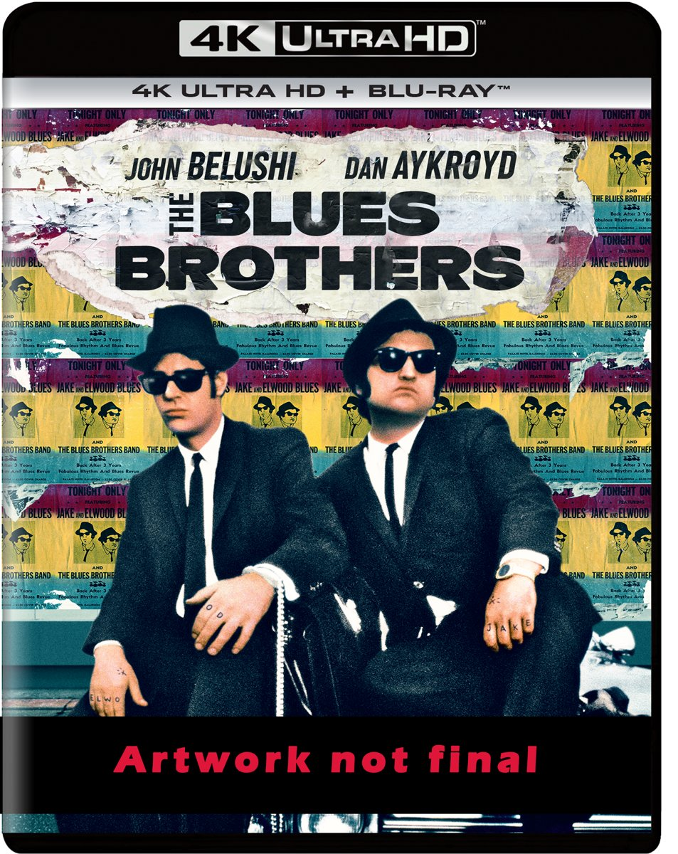 The Blues Brothers(4K Ultra-HD Blu-Ray)-
