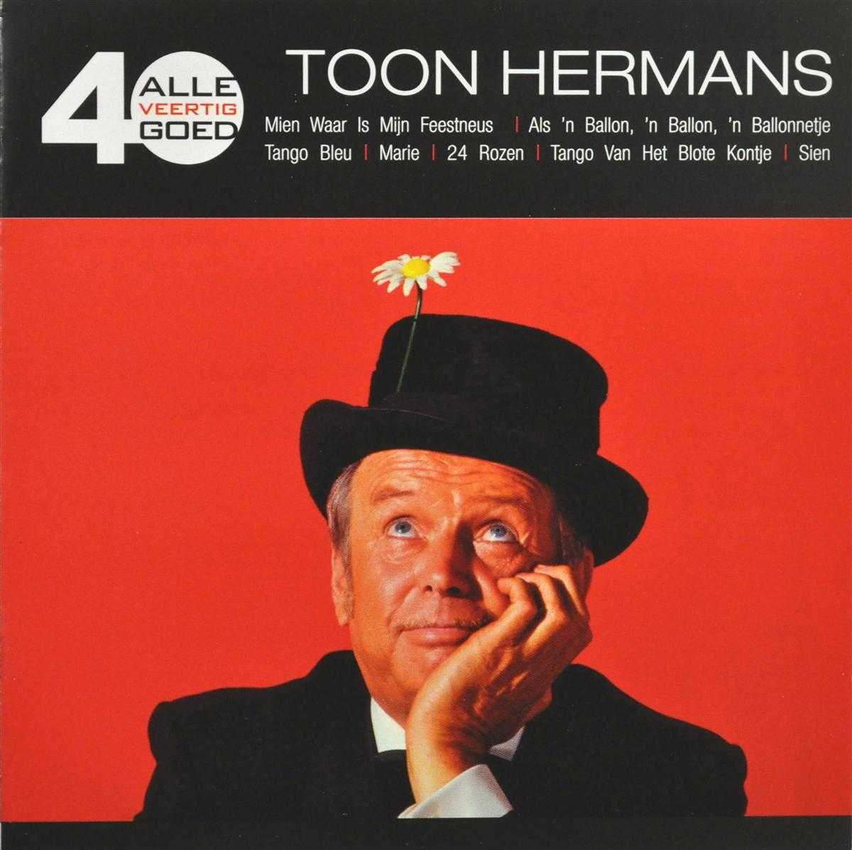 Bolcom Alle 40 Goed Toon Hermans Cd Album Muziek