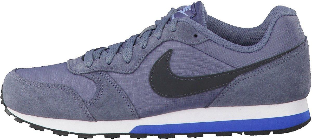 Runner Nike Md 2 Chaussures De Sport (gs) - Taille 36,5 - Unisexe - Anthracite / Bleu / Noir