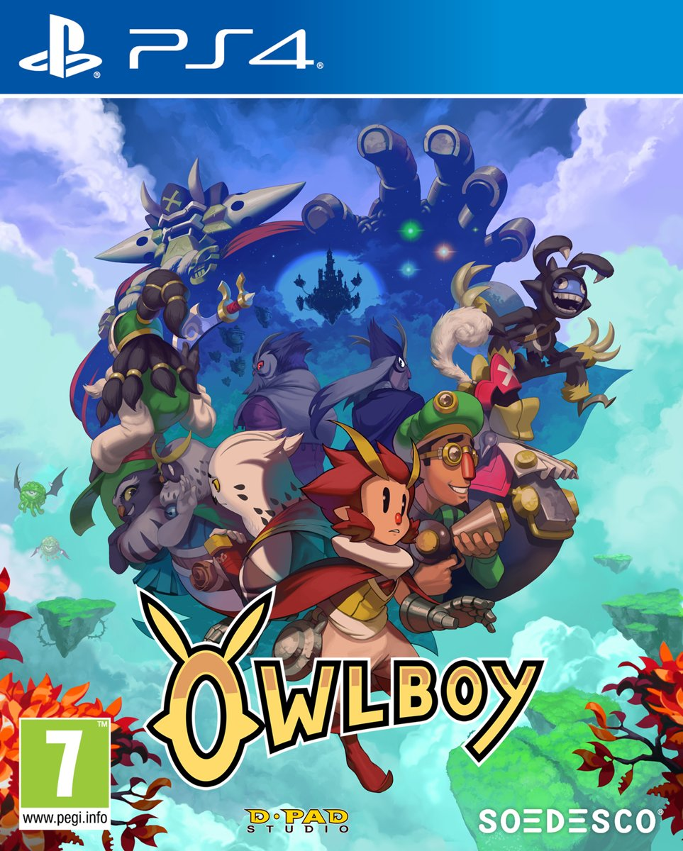 Owlboy PlayStation 4