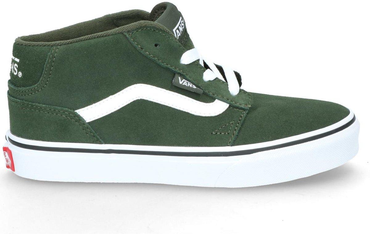 15f72044157 bol.com | Vans - Chapman Mid - Skate sneakers - Jongens - Maat 33 -  Groen;Groene - Duffel Bag Suede