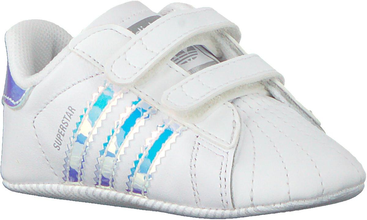 148a6b08c02 bol.com | Adidas Meisjes Babyschoenen Superstar Crib - Wit - Maat 21