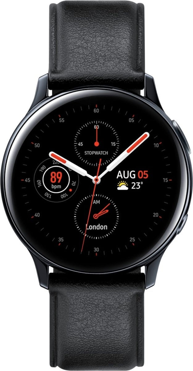 Galaxy Watch Active 2 Stainless Steel 40mm - black kopen