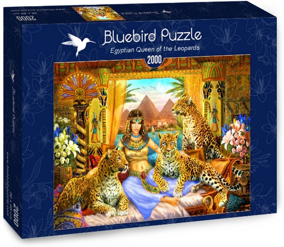 Egyptian Queen of the Leopards legpuzzel 2000 stukjes