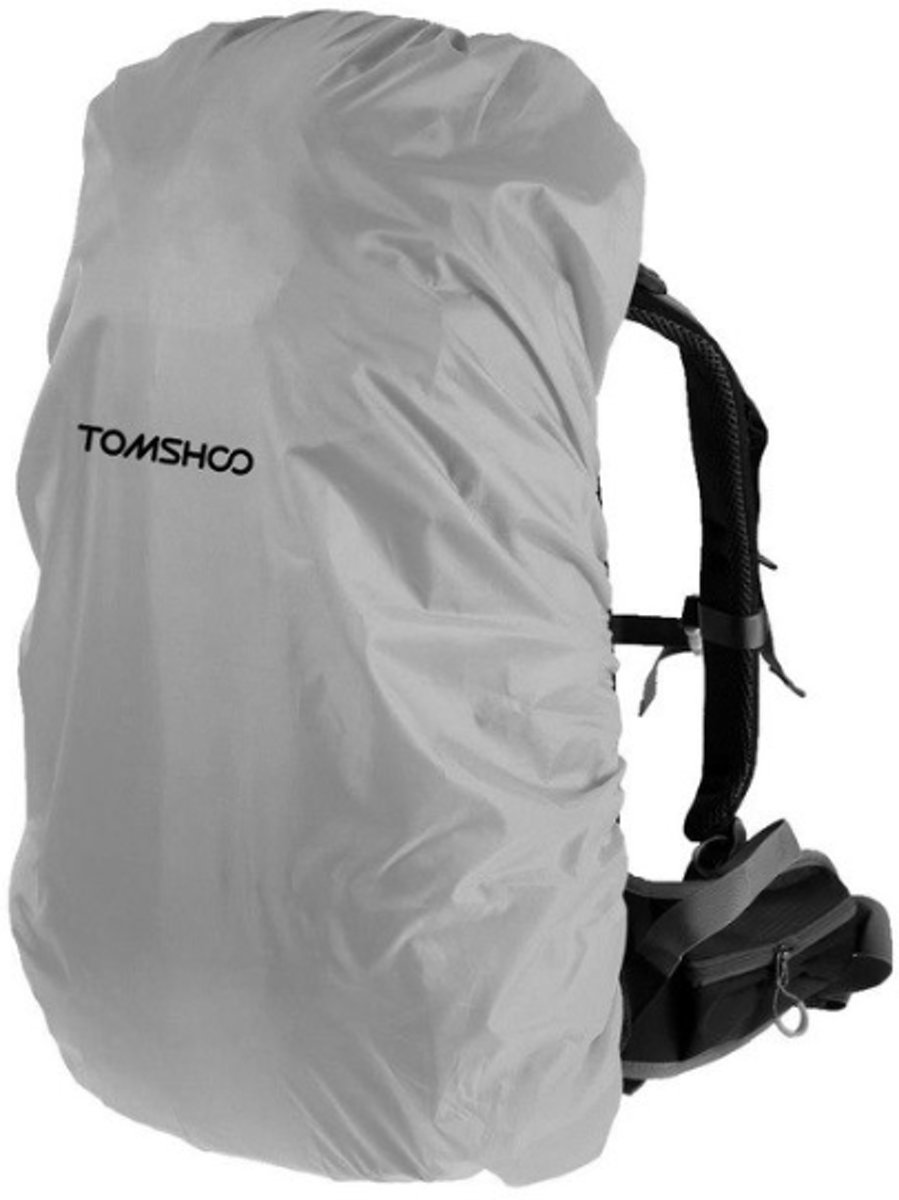 Universele backpack/rugzak regenhoes 40L-50L - Grijs kopen