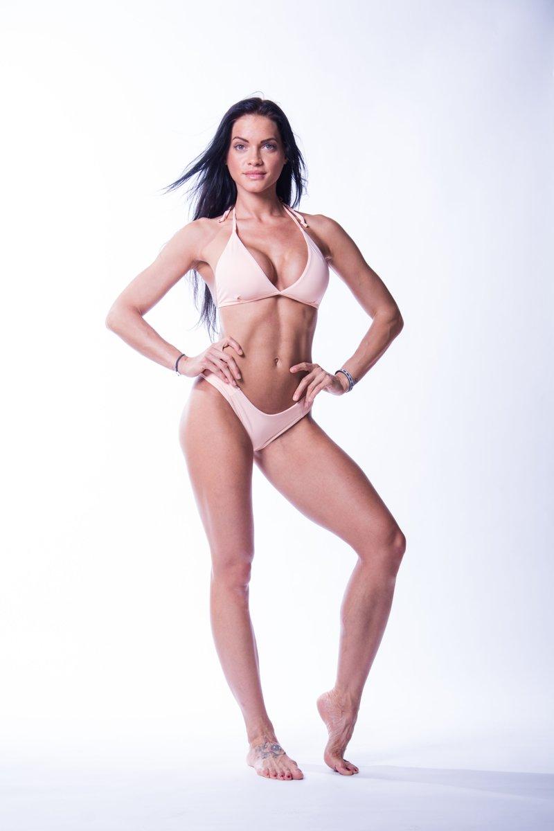 Bikini Broek Zalm Nebbia 632