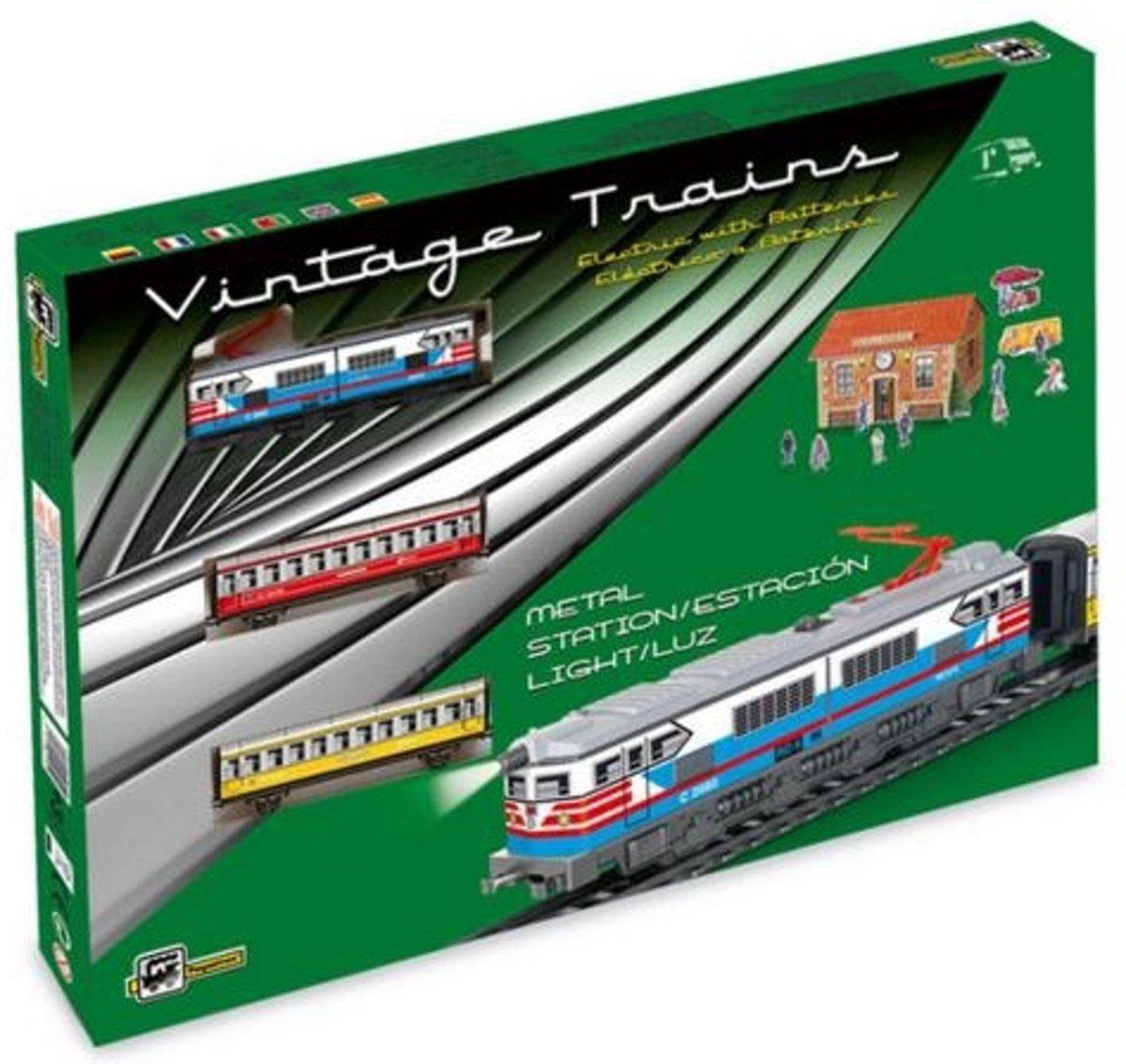 Pequetren Startset Batterij 302 Classic Passagiers Trein kopen